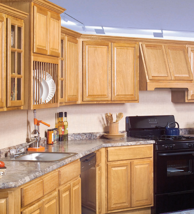 Econo Honey Oak Cabinets DISCONTINUED - ADI Supply - ADI ...
